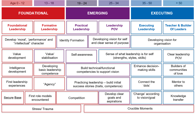 Foundational/Emerging/Executing Leadership